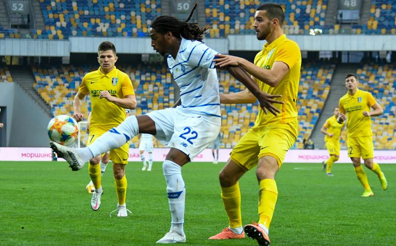 Динамо уходит в отрыв. 7-й тур ЧУ. Динамо — Александрия — 1:0