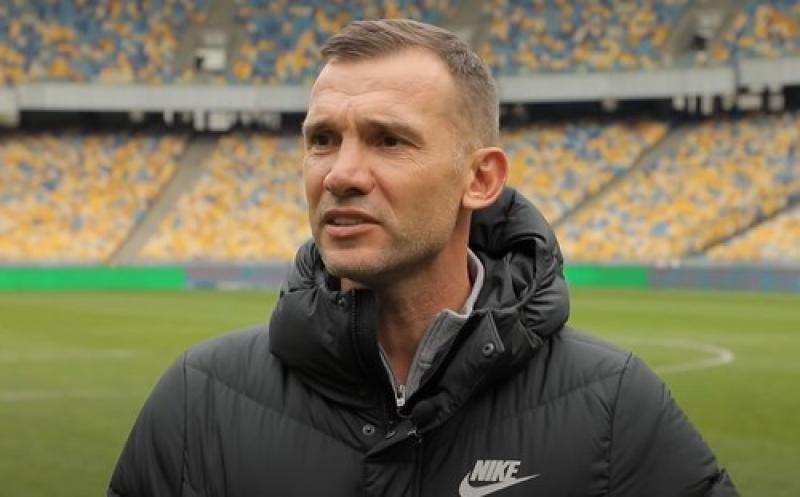 Шевченко рассказал, почему взял в Милане 7-й номер