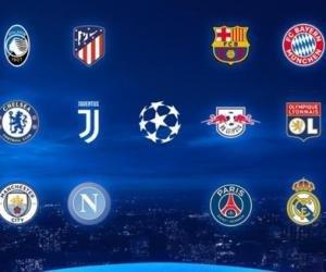 Стали известны пары 1/4 финала Лиги чемпионов