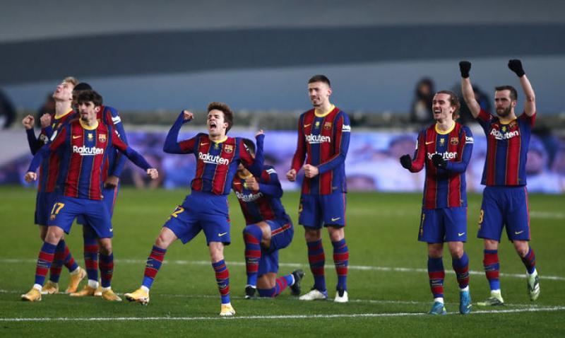 Без Месси трудно, но возможно. Реал Сосьедад - Барселона 1:1, пен. 2:3