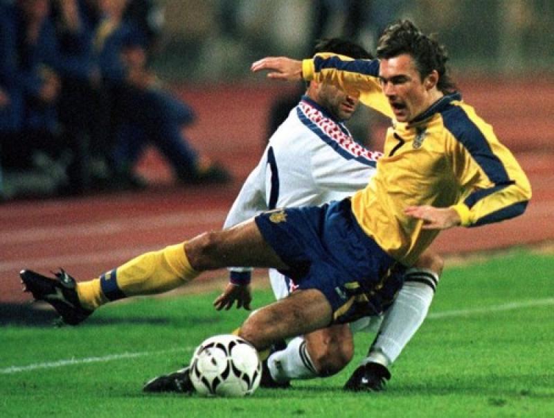 Футболисты сборной Украины 90-х, о которых редко вспоминают современные СМИ