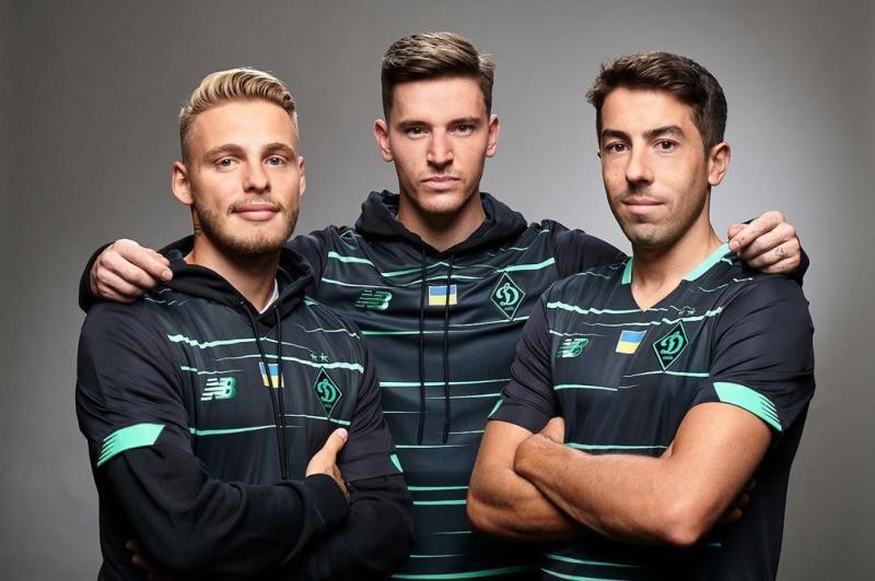 Динамо впервые сыграет в третьем комплекте формы в матче против Мариуполя