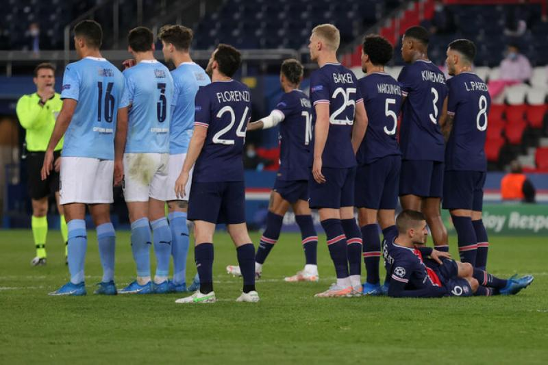 Манчестер Сити - ПСЖ - 2: 0