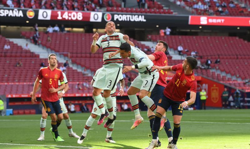 ТМ. Испания - Португалия 0: 0. К чемпионату Европы не готовы