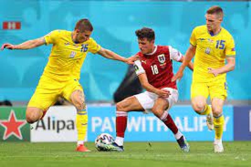 Украина проиграла Австрии и финишировала на третьем месте группы С