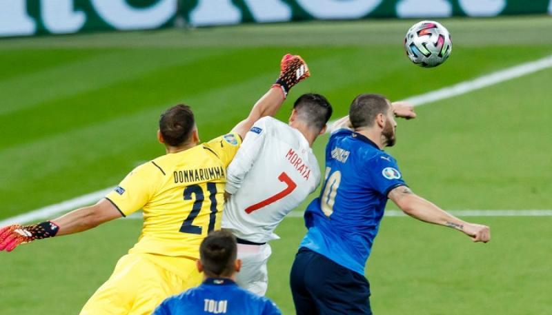 Италия вышла в финал Евро-2020 после победы над Испанией