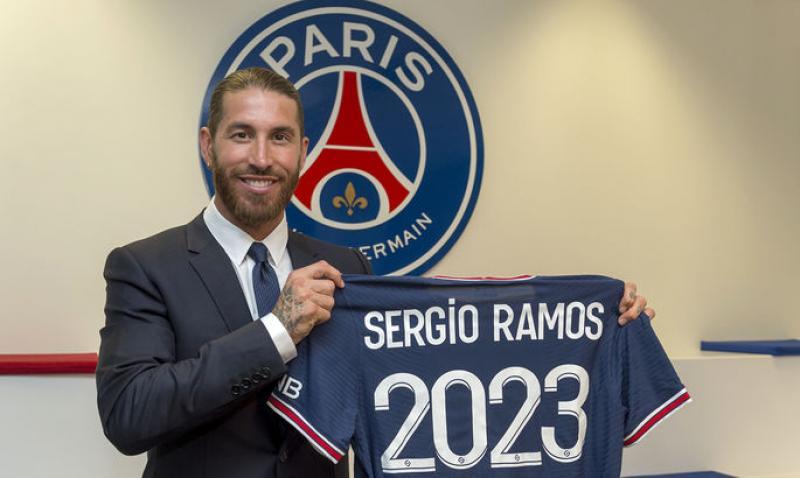 Официально: Серхио Рамос стал игроком ПСЖ