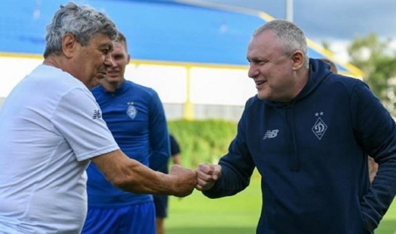 Вы вернули в Киев не только трофеи и титулы, — поздравление Луческу от Суркиса и Сидорчука